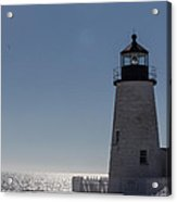 February 20 -- Pemaquid Point Light 2 Acrylic Print