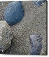 February Rock Garden Acrylic Print