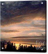 February Sky Acrylic Print