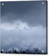 February Storm Clouds 2013 Acrylic Print