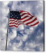 Federal Hill Flag Acrylic Print by Brian Wallace
