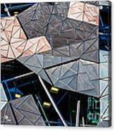 Federation Square Melbourne  Acrylic Print