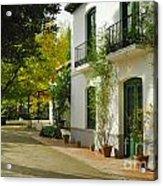Federico Garcia Lorca Home Acrylic Print