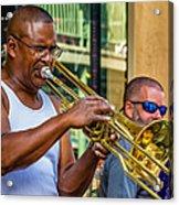 Feel It - New Orleans Jazz  Acrylic Print