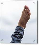 Feel  The Skies Under Your Foot - Featured 2 Acrylic Print