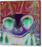 Feeling Froggy V2 Acrylic Print