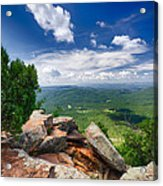Feeling On Top Of The World Acrylic Print