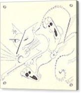 Felis Notsodomesticus Acrylic Print