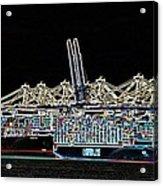 Felixstowe Glow 004 Acrylic Print