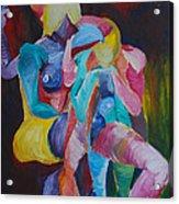 Female Art Acrylic Print