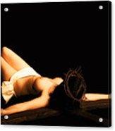 Female Crucifix Xviii Century Acrylic Print