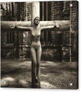 Female Martyr Acrylic Print