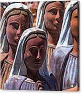 Female Statues Acrylic Print
