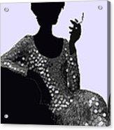 Femme Fatale C1960 Shaken Not Stirred Acrylic Print