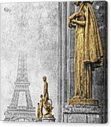 femmes de Paris Acrylic Print