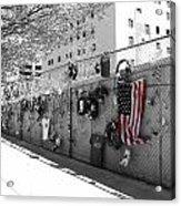 Fence At The Oklahoma City Bombing Memorial Acrylic Print
