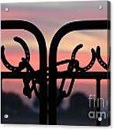 Fence Of Luck Acrylic Print