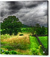 Fenced Out Acrylic Print