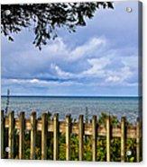 Fenced View Acrylic Print