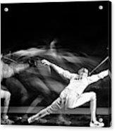Fencing #1 Acrylic Print