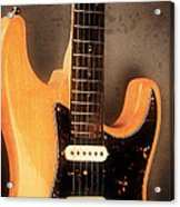 Fender Stratocaster Electric Guitar Acrylic Print