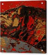 Feng Shui - Gold Mountain Acrylic Print