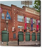Fenway Park - Best Of Boston Acrylic Print