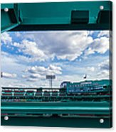 Fenway Park From The Green Monster Acrylic Print