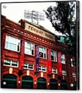 Fenway Park In October 2013 Acrylic Print