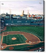 Fenway Park Photo - Inside View Acrylic Print by Horsch Gallery