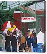 Fenway Park Spring Time Acrylic Print