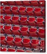 Fenway Seats Acrylic Print