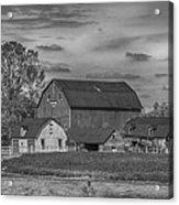Fenwick Barn 7k02210b Acrylic Print