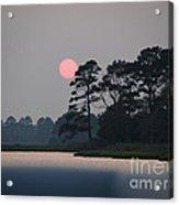 Fenwick Island Delaware Sunset Acrylic Print