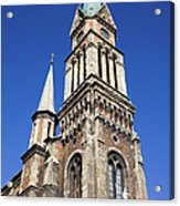 Ferencvaros Church Tower In Budapest Acrylic Print