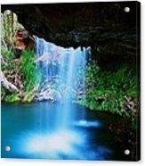 Fern Pool Falls Acrylic Print