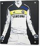 Fernando Torres - Chelsea Fc Acrylic Print