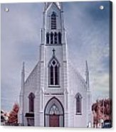Ferndale Church Acrylic Print