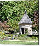 Fernwood Botanical Garden Stone Herb House Usa Acrylic Print