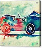 Ferrari 124 Pm Acrylic Print by Shruti Prasad
