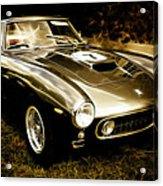 Ferrari 250 Gt Swb Acrylic Print by Phil 'motography' Clark