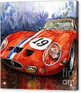 Ferrari 250 Gto 1963 Acrylic Print by Yuriy  Shevchuk