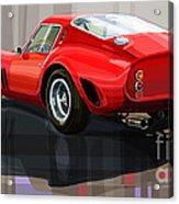 Ferrari 250 Gto Acrylic Print