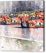 Ferrari 312 Pb Daytona 6 Hours 1972 Acrylic Print