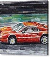 Ferrari 328 Acrylic Print