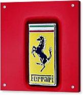 Ferrari Badge Acrylic Print
