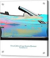 Ferrari California Bunessan Bay Acrylic Print