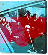 Ferrari Cockpit Acrylic Print