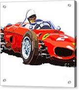 Ferrari Dino 156 1962  Acrylic Print
