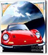 Ferrari Dino Acrylic Print